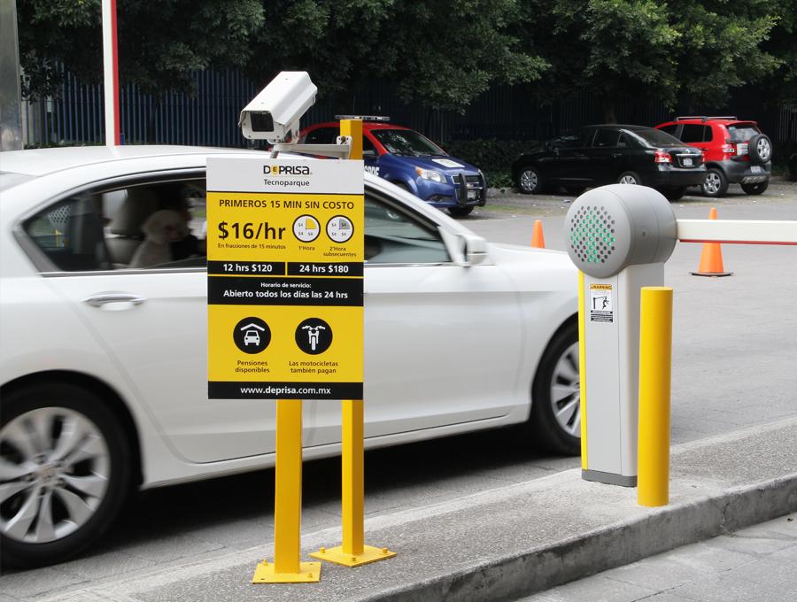 estacionamiento deprisa tecnoparque
